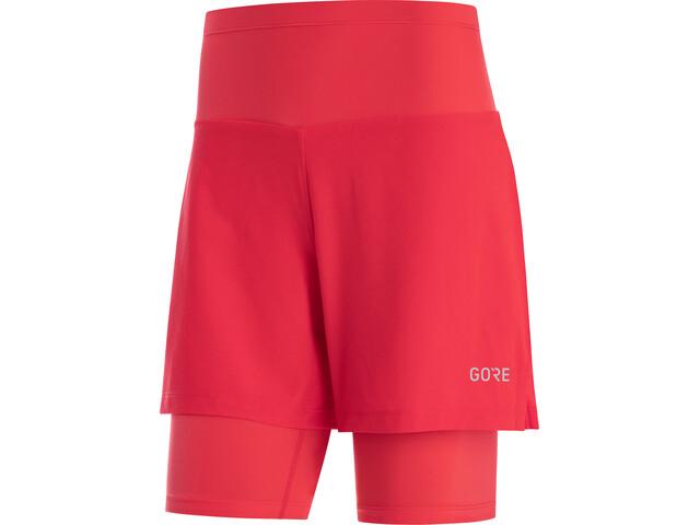 GORE WEAR R5 2in1 Shorts Women hibiscus pink